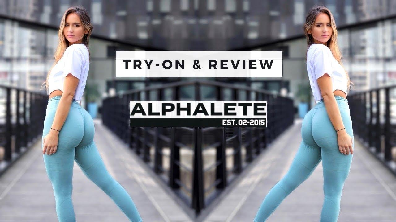 BEST LEGGINGS EVER? Try on & in-depth review | Alphalete