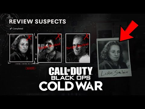 Find the 3 Suspects Easily in CALL OF DUTY: BLACK OPS COLD WAR