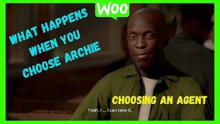 NBA 2k21 My Career choosing an agent/choosing archie baldwin