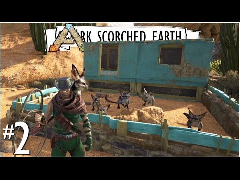 JERBOA FARM + RANCH HOUSE + NEW DESERT CLOTHES :: Ep. 2 :: Ark Scorched Earth DLC :: UniteTheClans