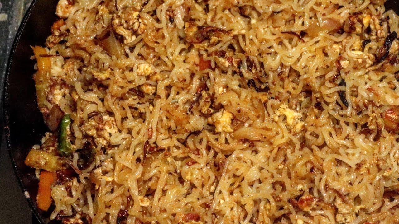 Egg Noodles Recipe | Maggi Noodles Recipe | How to Make Egg Noodles | FoodVlog