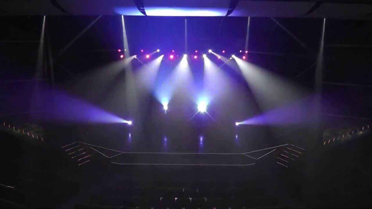 rock concert lighting design