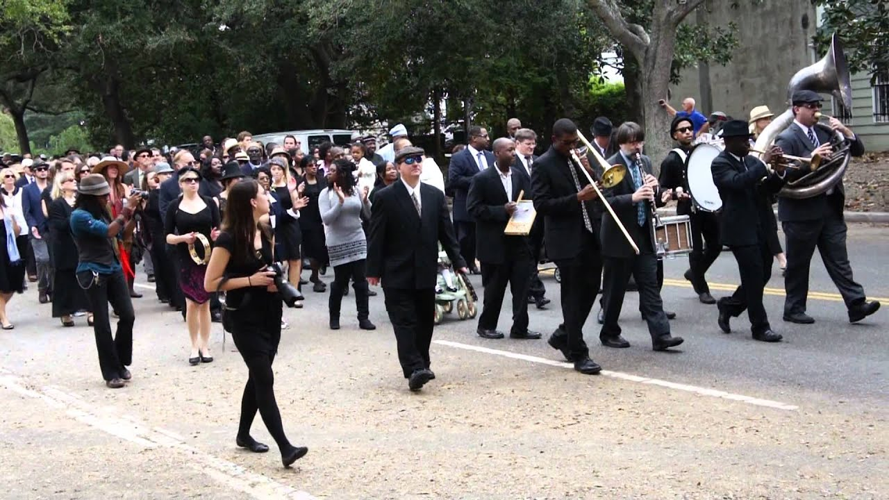 Jack McCray, Jazz Funeral Procession, Charleston SC USA ...
