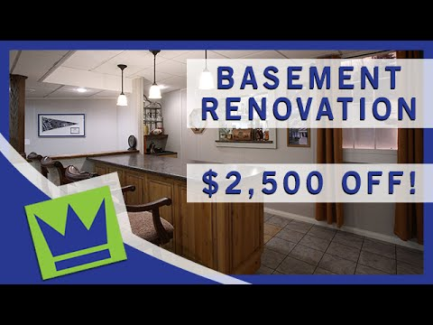 Basement Renovation Springfield MA - Remodeling Discount - Lux Renovation
