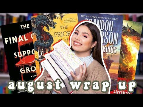 HORRIBLE plot devices, terrible parents, weak stardust dragons and other books i read in august… 😖