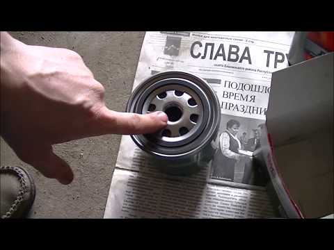 Фото к видео: ЗАМЕНА МАСЛА И ФИЛЬТРА НА ВАЗ -2106