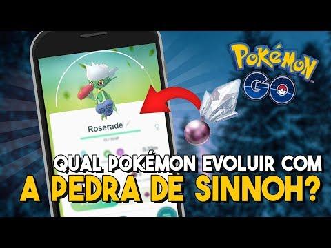 5 POKÉMON PARA EVOLUIR PRIMEIRO COM A PEDRA DE SINNOH!   Pokémon GO