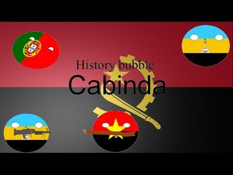 History bubble extra Cabinda (Angola)
