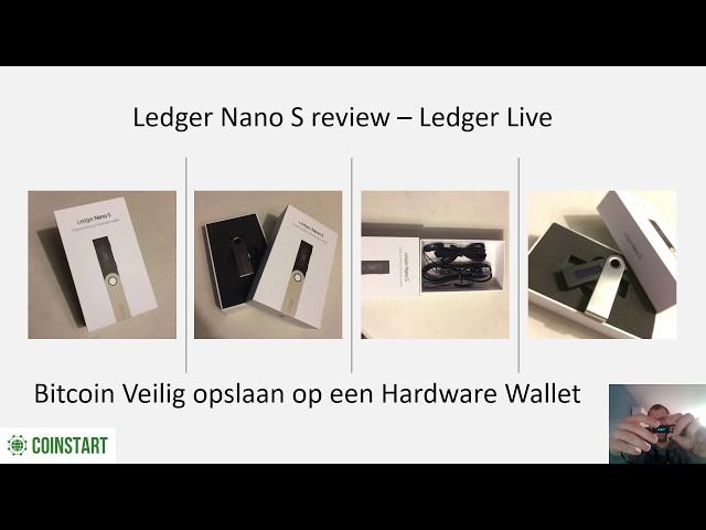 Review: Ledger Nano S Nederlands Hardware Wallet - Bitcoins veilig opslaan & bewaren!