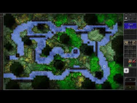 Gemcraft Frostborn Wrath H2 Trial mode Gameplay |