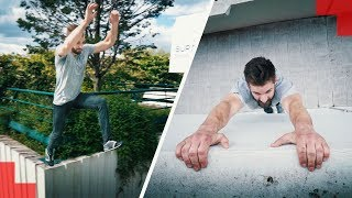 We challenge ourselves (PARKOUR CHALLENGE)