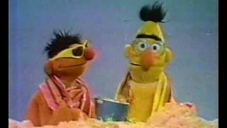 Bert en Ernie - Het strand