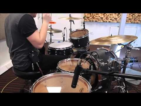 Luke Selby Playing British Drum Co at Freestyle Music Centre