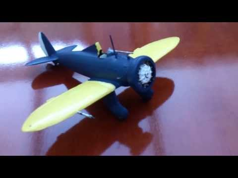 Revell 1/72 Boeing P-26A Peashooter Update