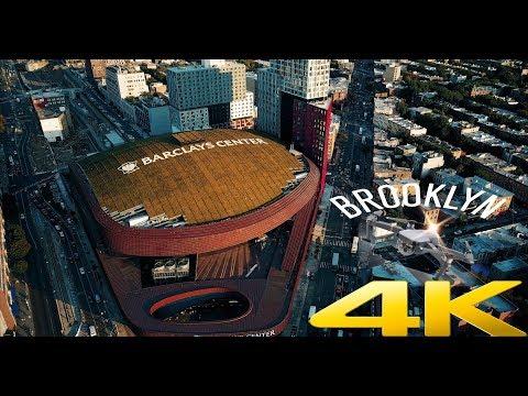 Brooklyn, New York - Barclays Center - Shot with DJI Mavic Pro