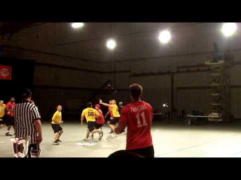 Sky Ball League  Chris Fabregas Pass and LA Scores