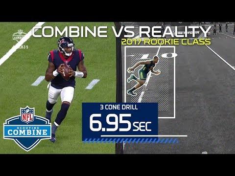 Combine vs. Reality: Watson, McCaffrey, JuJu, Kamara & More 2017 Rookies! | NFL Highlights