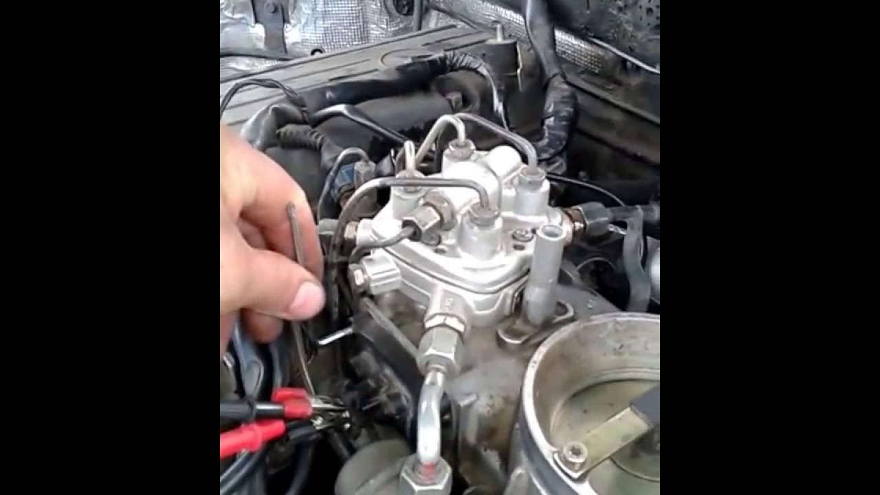 холостые обороты двигателя мерседес 190 2.0