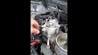 Холостые обороты Мерседес W124 102 двигатель