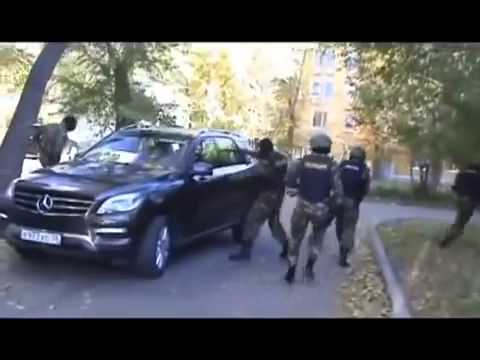 Russian Cops in Action! Special Forces!!! Killer get arrested