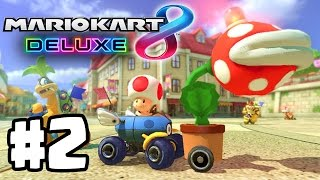 New Game Modes! | Mario Kart 8 Deluxe Part 2 | Switch Gameplay Walkthrough