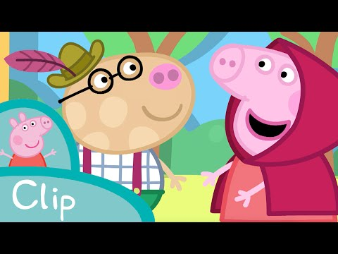 Peppa Pig Episodes - Little Red Riding Hood (clip) - Cartoons for Children