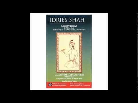 Observations by Idries Shah part 1 of 2