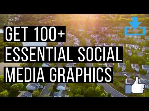 Real Estate Social Media: Get 100+ Images FREE