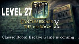 Can You Escape The 100 room X level 27 Walkthrough