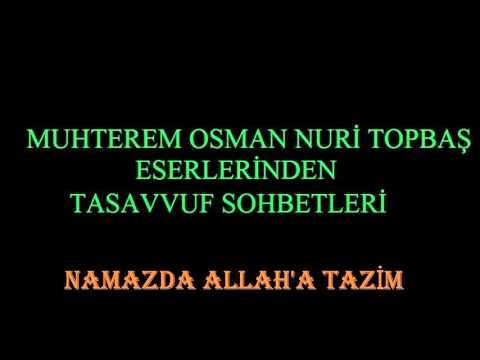 NAMAZDA ALLAH'A TAZİM