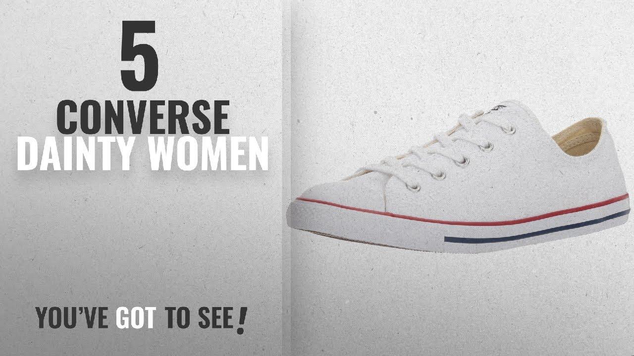 75e6fc092a4a Top 5 Converse Dainty Women  2018   Converse Women s Dainty Canvas Low Top  Sneaker