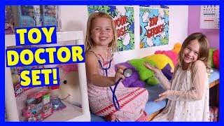 Our New TOY DOCTOR Set + Opening Fan Mail !!!
