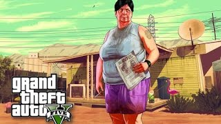 GIANT LESBIAN TITTY F*CKER - GTA V PC Mods #2