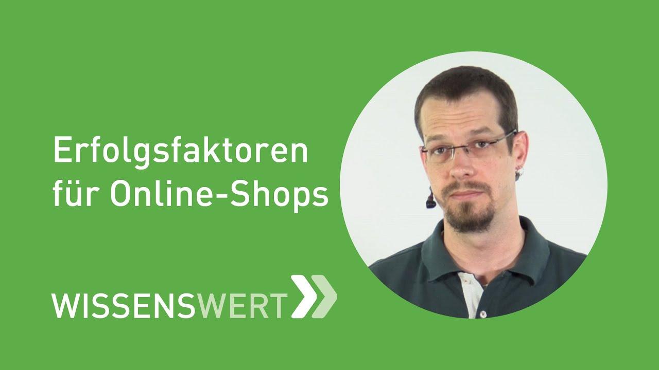 Erfolgsfaktoren für Onlineshops | FAIRRANK TV - Wissenswert