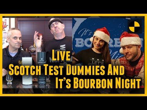 "LIVE w/ ""It's Bourbon Night""...Michter's 10 year Single Barrel...Highland Park Magnus...#410"