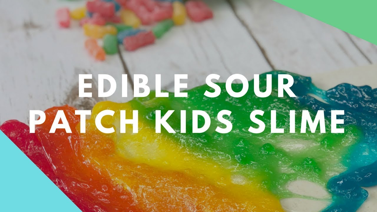 Sour Patch Kid Edible Slime