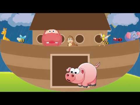 The Animals Went in Two by Two | Kids Sing-a-Long