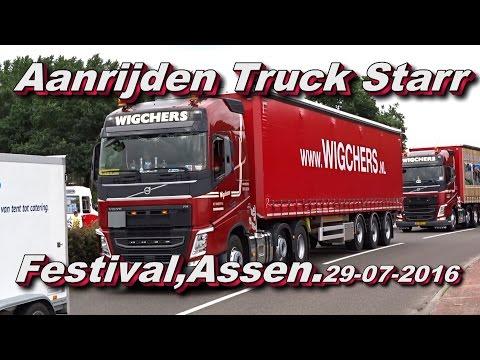Aanrijden Truck Starr Festival,Assen 29 07 2016