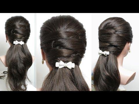 Easy Everyday Hairstyle for Long Medium Hair