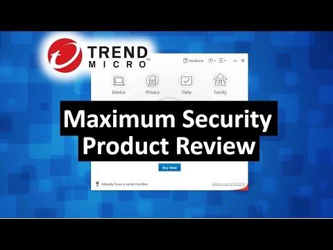 Trend Micro Maximum PC Security 2018