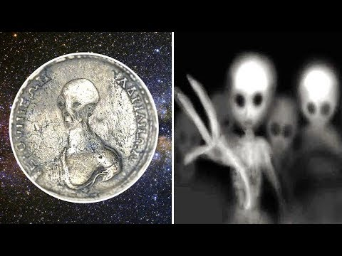 Does This Ancient Coin Depicts An Alien Like Creature?