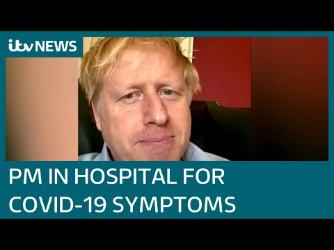Boris Johnson admitted to hospital for tests after testing positive for ...
