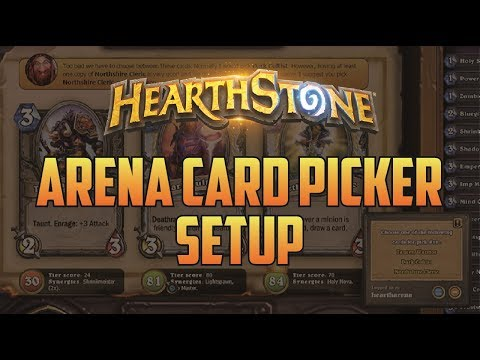 Hearthstone Arena Companion Setup - Hearth Arena Card Picker | Dekkster