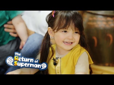 Na Eun is Good at German!  [The Return of Superman Ep 246]
