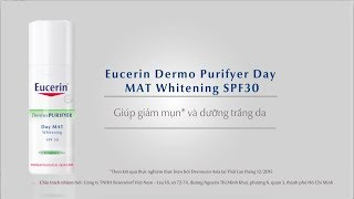 Kem dưỡng trắng da Eucerin Day MAT Whitening