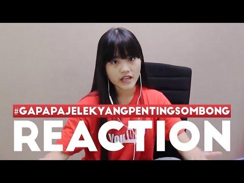 REACTION GAPAPA JELEK YANG PENTING SOMBONG - #TIM2ONEVLOG