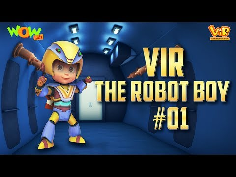 Vir the robot boy # 1 - 3D action compilation for kids - As seen on Hungama TV