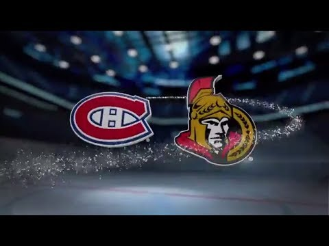 Montreal Canadiens vs Ottawa Senators - October 30, 2017 | Game Highlights | NHL 2017/18.Обзор матча
