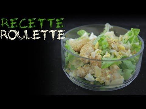 Recette : Salade césar light !