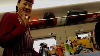 China Bullet Train Full Journey Vlog700km in 3.5 hoursZhengzhou to Beijing video guide